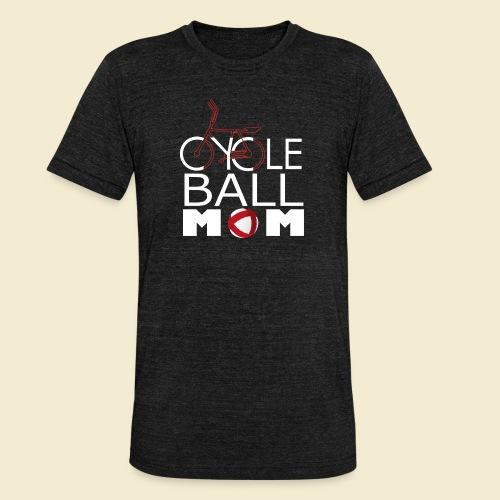 Radball   Cycle Ball Mom - Unisex Tri-Blend T-Shirt von Bella + Canvas