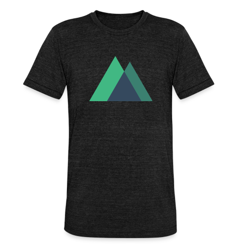 Mountain Logo - Unisex Tri-Blend T-Shirt by Bella & Canvas