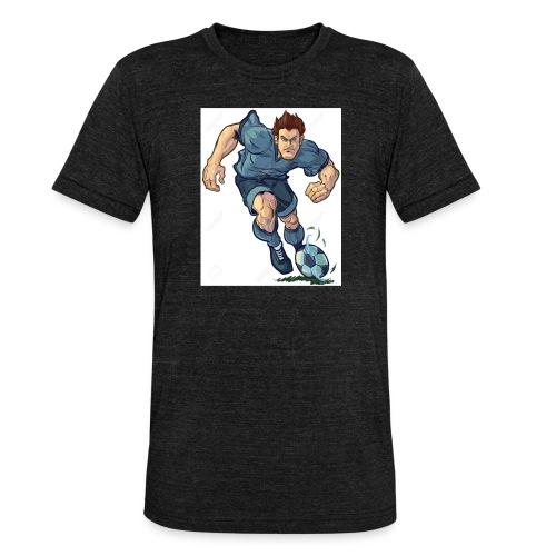 41982995-Vector-de-dibujos-animados-ilustraci-n-de - Camiseta Tri-Blend unisex de Bella + Canvas