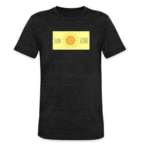 Sun Love - Unisex Tri-Blend T-Shirt by Bella & Canvas