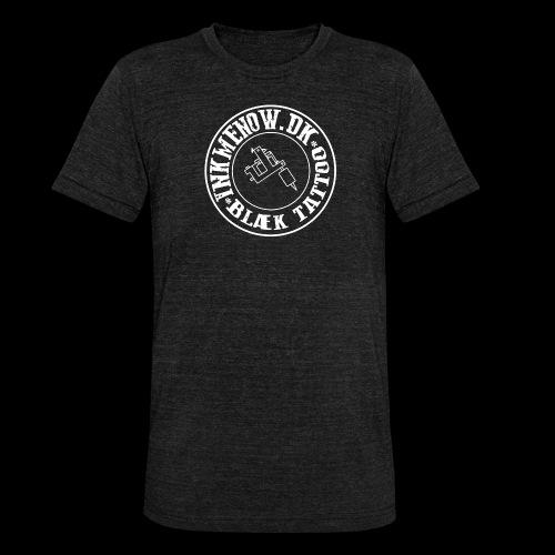 logo hvid png - Unisex tri-blend T-shirt fra Bella + Canvas