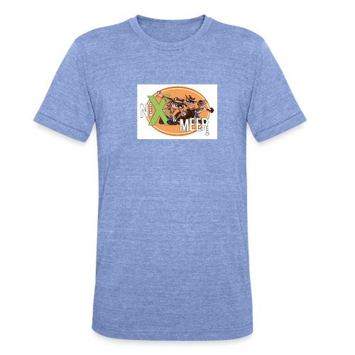 nixenmeer - Unisex tri-blend T-shirt van Bella + Canvas