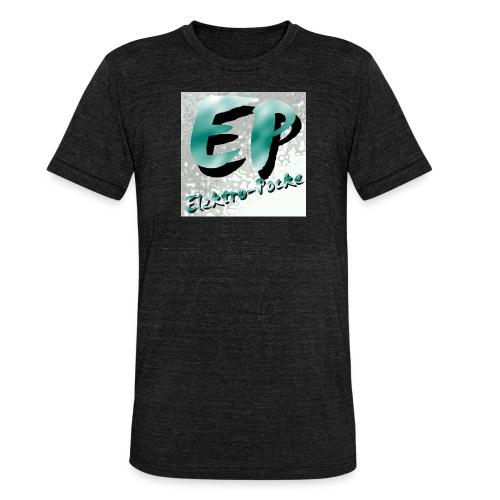 Elektro-Pocke T-Shirt Premium - Unisex Tri-Blend T-Shirt von Bella + Canvas