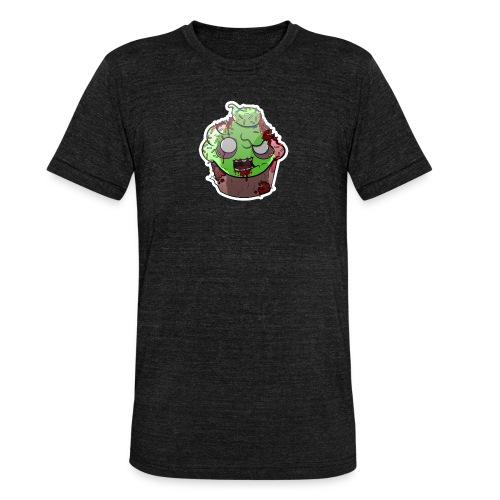 Cupake zombie couleur - T-shirt chiné Bella + Canvas Unisexe