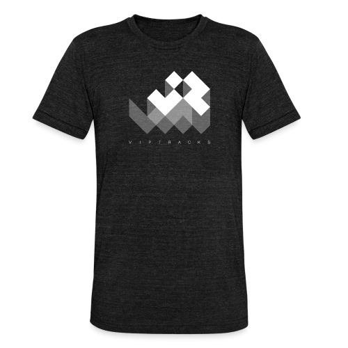 LOGO VIPTRACKS RELEASES - Unisex tri-blend T-shirt van Bella + Canvas
