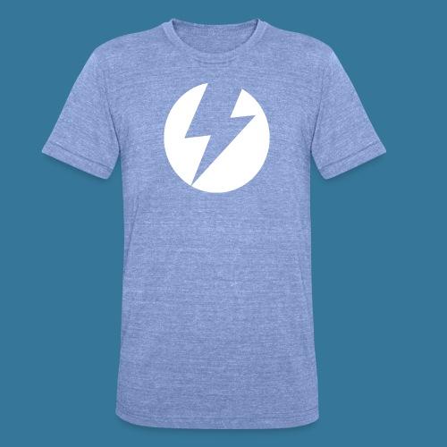 BlueSparks - White - Unisex Tri-Blend T-Shirt by Bella & Canvas