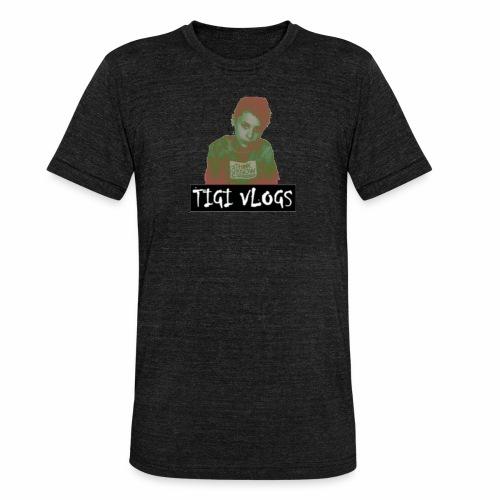TIGIVLOGS JUL MERCH! - Triblend-T-shirt unisex från Bella + Canvas