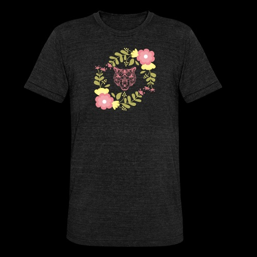 Tee-shirt TIGRE - T-shirt chiné Bella + Canvas Unisexe