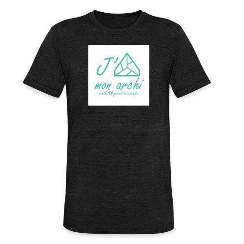 J aime mon archi - T-shirt chiné Bella + Canvas Unisexe