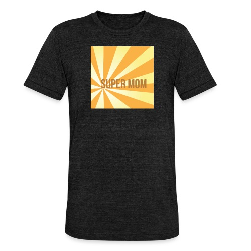 supermom maske2 - Unisex Tri-Blend T-Shirt von Bella + Canvas