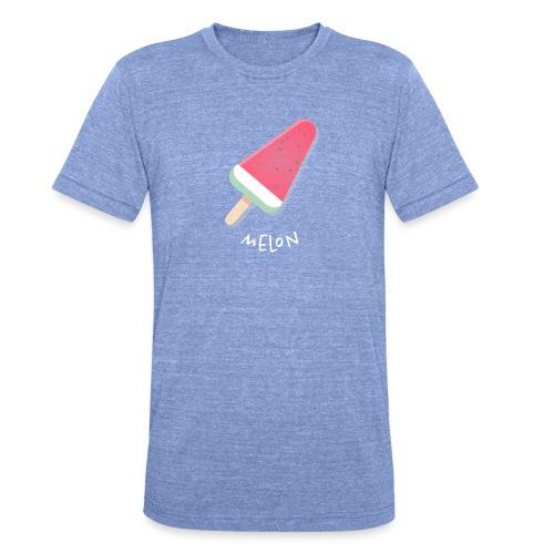 melon vrouwen t-shirt - Unisex tri-blend T-shirt van Bella + Canvas