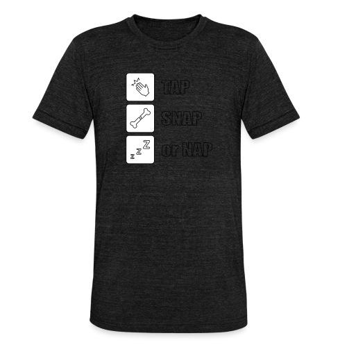 tap snap or nap - Koszulka Bella + Canvas triblend – typu unisex