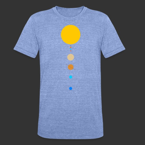 Solar System - Unisex Tri-Blend T-Shirt by Bella & Canvas