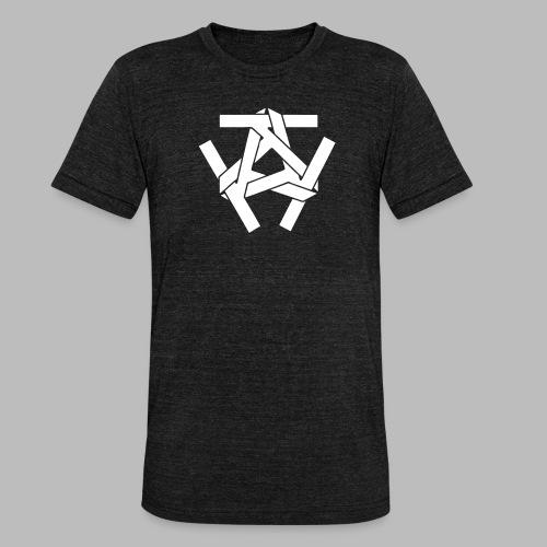 KKK-Logo-vektor - Unisex Tri-Blend T-Shirt von Bella + Canvas