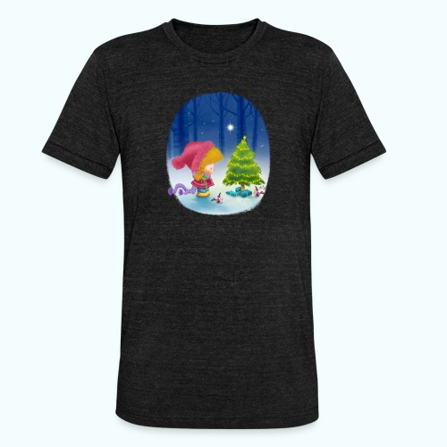 Christmas 1 - Unisex Tri-Blend T-Shirt by Bella & Canvas