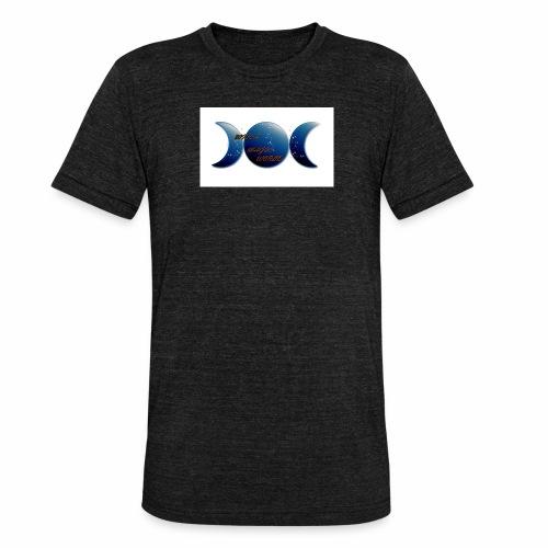 CAMISETA WICCA MA GIC WORLD, PARA EL DISFRUTE - Camiseta Tri-Blend unisex de Bella + Canvas