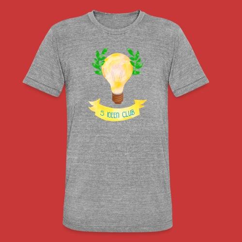 5 IDEEN CLUB Glühbirne 2018 - Unisex Tri-Blend T-Shirt von Bella + Canvas