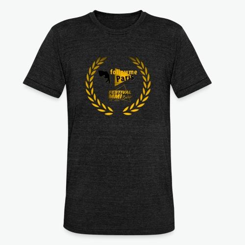 Followme Paris lauréat Festival MMI Béziers - T-shirt chiné Bella + Canvas Unisexe