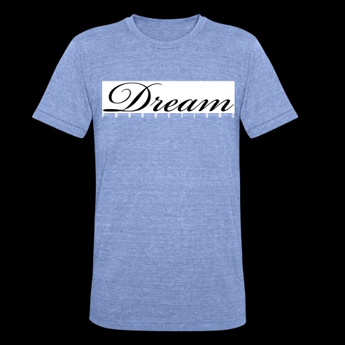 Dream Productions NR1 - Unisex Tri-Blend T-Shirt von Bella + Canvas