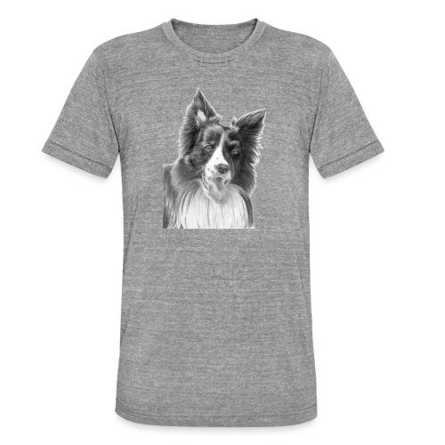 border collie 3 - Unisex tri-blend T-shirt fra Bella + Canvas