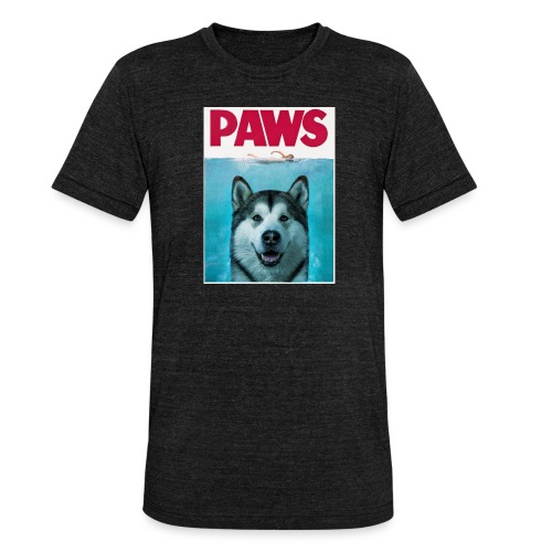 paws 2 - Unisex Tri-Blend T-Shirt by Bella & Canvas