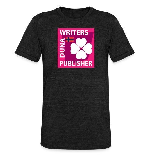Duna Writers Publisher Pink - Unisex tri-blend T-skjorte fra Bella + Canvas