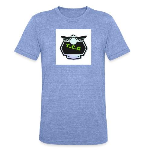 Cool gamer logo - Unisex Tri-Blend T-Shirt by Bella & Canvas