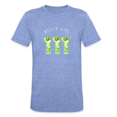mojito girl - T-shirt chiné Bella + Canvas Unisexe