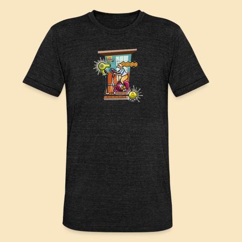 Studio Kraftwerk 011 - Unisex Tri-Blend T-Shirt von Bella + Canvas