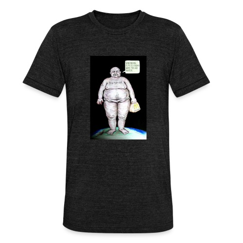 Predator - Unisex tri-blend T-shirt fra Bella + Canvas