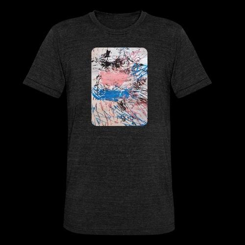 Emelie Kunstwerk V. - Unisex Tri-Blend T-Shirt von Bella + Canvas