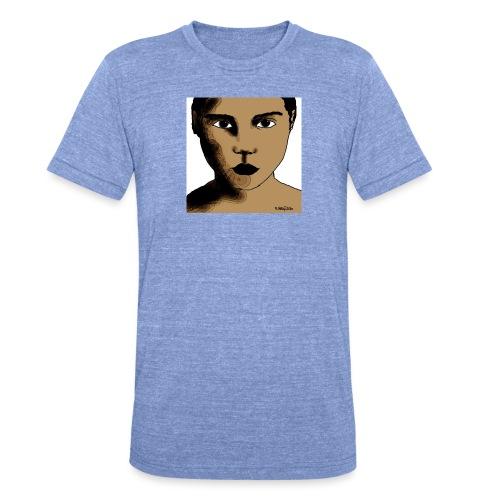 volto0001-jpg - Maglietta unisex tri-blend di Bella + Canvas