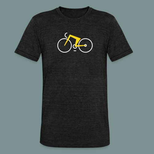 Bikes against cancer - Unisex tri-blend T-shirt fra Bella + Canvas