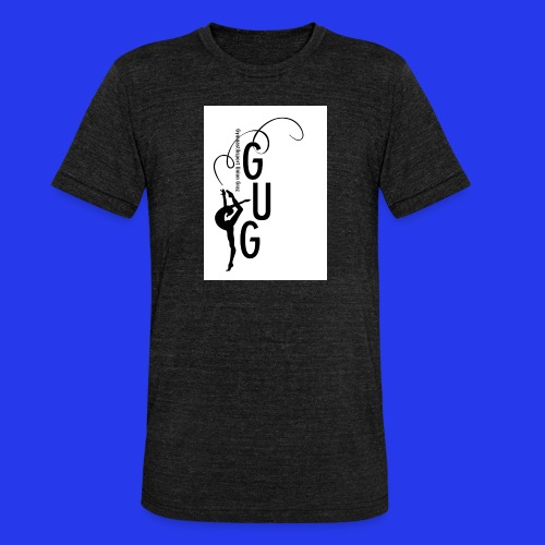 GUG Logo - Unisex Tri-Blend T-Shirt von Bella + Canvas