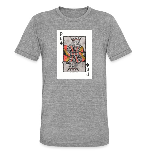 king parties and drinks - Bella + Canvasin unisex Tri-Blend t-paita.
