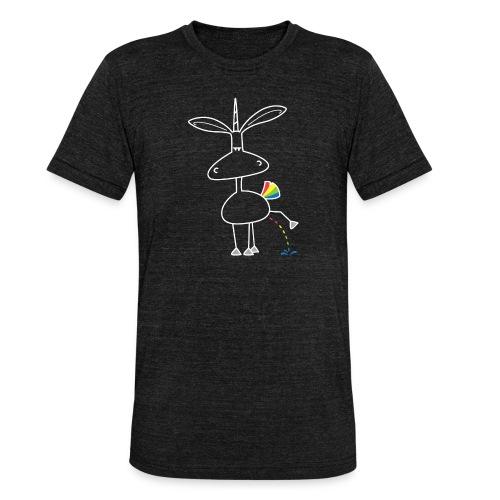 Dru - bunt pinkeln - Unisex Tri-Blend T-Shirt von Bella + Canvas