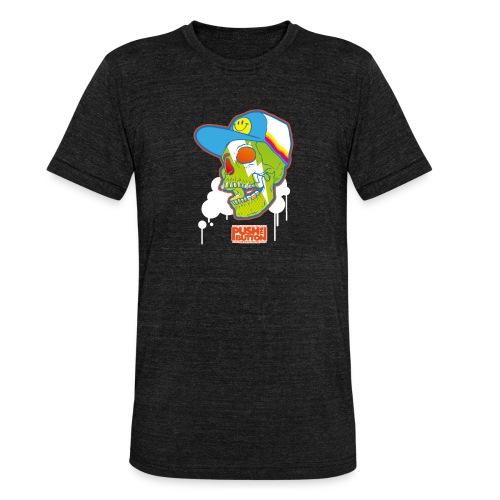Ptb Skullhead 2 - Unisex Tri-Blend T-Shirt by Bella & Canvas