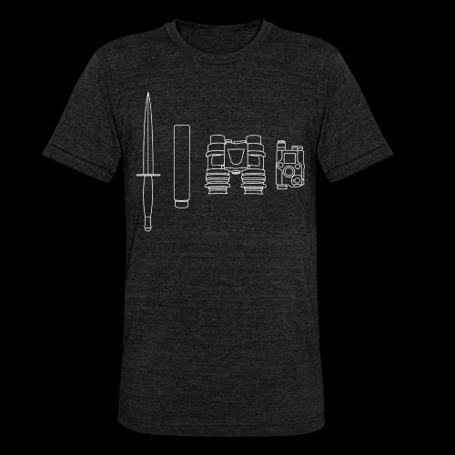 SOPMOD weiss - Unisex Tri-Blend T-Shirt von Bella + Canvas