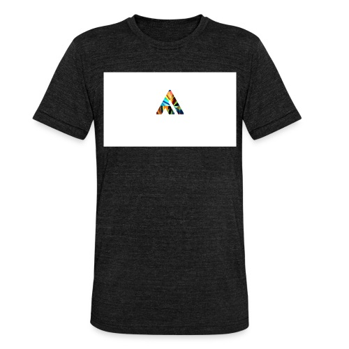 A - Unisex tri-blend T-shirt fra Bella + Canvas