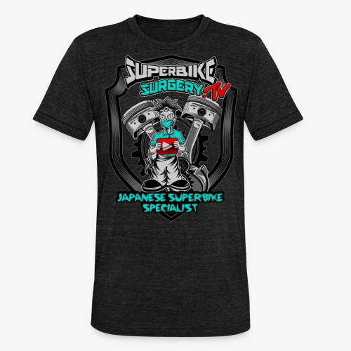 Superbike Surgery TV - Unisex Tri-Blend T-Shirt by Bella & Canvas