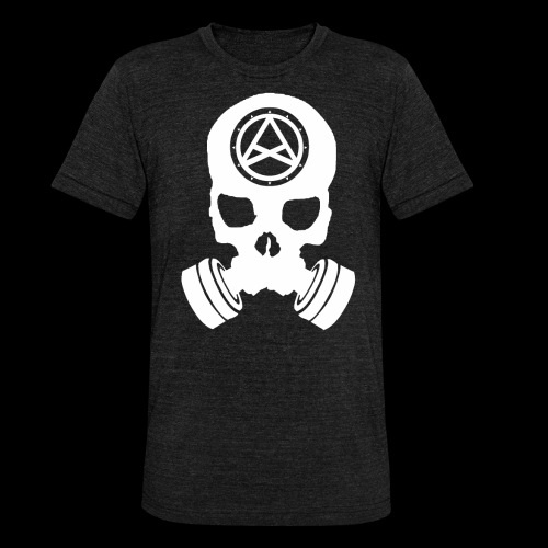 Nether Skull - Maglietta unisex tri-blend di Bella + Canvas