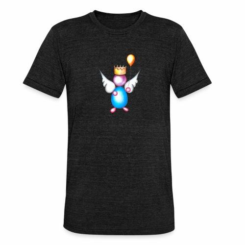 Mettalic Angel geluk - Unisex tri-blend T-shirt van Bella + Canvas