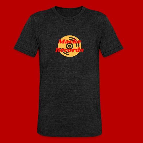 mackerecords merch - Triblend-T-shirt unisex från Bella + Canvas