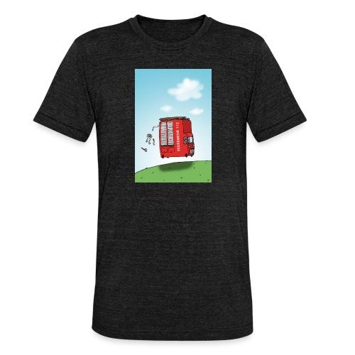 Feuerwehrwagen - Unisex Tri-Blend T-Shirt von Bella + Canvas