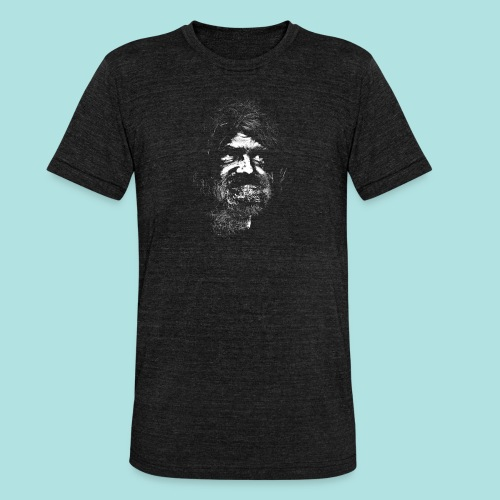 Old Guy, Eyes Open. - Unisex Tri-Blend T-Shirt by Bella & Canvas