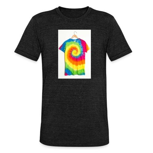 tie die small merch - Unisex Tri-Blend T-Shirt by Bella & Canvas