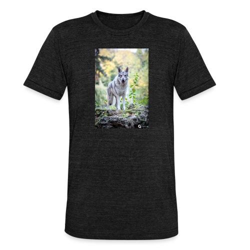 La Tanière des Chiens-Loups - T-shirt chiné Bella + Canvas Unisexe