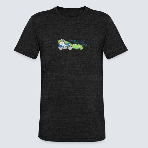 HDC jubileum logo - Unisex tri-blend T-shirt van Bella + Canvas
