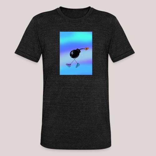 Boom if u can - Unisex Tri-Blend T-Shirt von Bella + Canvas