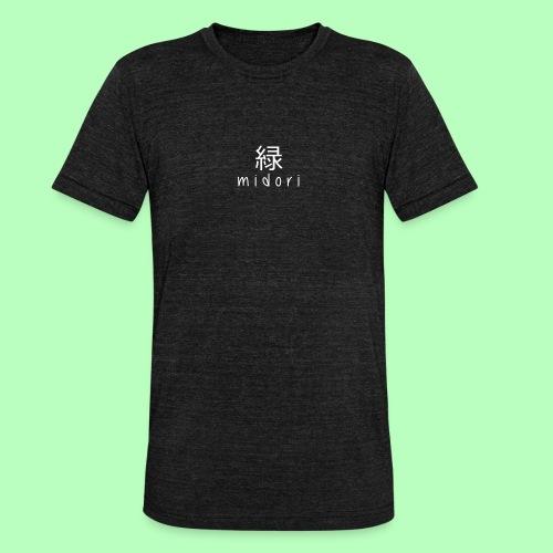 midorii japan - white - Unisex Tri-Blend T-Shirt by Bella & Canvas